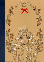 Notebook autumn's circle by m-u-ll-e
