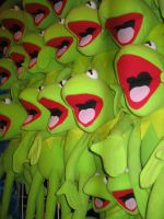 kermit dolls at easter show 2 by hayleybebe