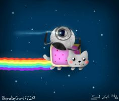 What happens in space... by BlondieGurl1129