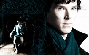 Benedict Cumberbatch Wallpaper by Nero749
