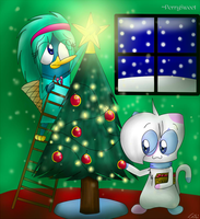 Collab - Christmas Decoration by Leibi97