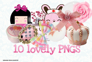 + Lovely PNGs pack by runaways-rocks