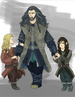 Hey uncle Thorin! by MeSandra