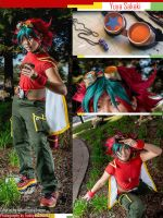 Yuya Sakaki - Yugioh Arc-V cosplay by slifertheskydragon