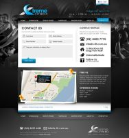 Xtreme Fitness Contact Page by scottrichardson