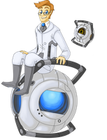 Wheatley by GasMaskMonster