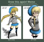 Kyla Before and After by LilAnimeGurl33