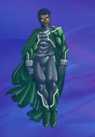 green negro rock man by felle2thou