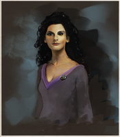Counselor Deanna Troi by Astra-Andromeda