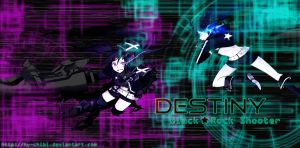 Black Rock Shooter -Destiny- by hy-chibi