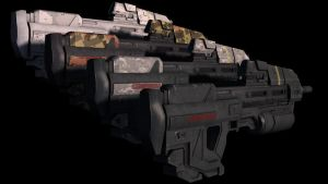 Halo Reach Assault Rrifle 2 by KonstantinL