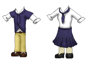 Wanschepsel Academy Uniforms by Dianamond