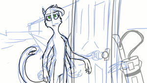 Oh, Please [animated WIP] by Blairaptor