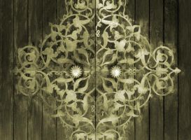 Old Islamic Art door by memo00o
