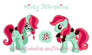 Minty Starshine - my ponysona by StarshineBeast
