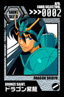 SS Cards - Shiryu by afo2006