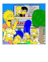 2000: Bart's work by simpspin