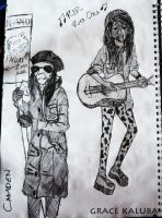 PEOPLE OF CAMDEN (London Sketches) by loveangelmusic