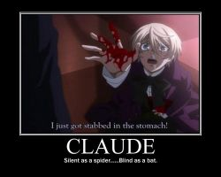 Claude Faustus by SilenceInTheWind24