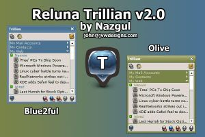 Reluna Trillian v2.0 by JVWDesigns