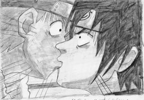naruto and sasuke by inuyasha666hiei