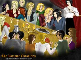 The Vampire Chronicles NewYear by AlucardTepes