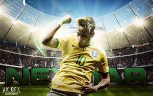 nwe wallpaper for neymae jr by ahmed-k-gfx