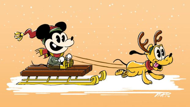 Merry Lil Mickey by NicParris