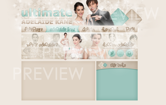 Design ft. Adelaide Kane and Torrance Coombs by tessie-art