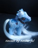 My little pony custom butterfly Nevaeh by AmbarJulieta