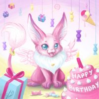 Pink Birthday by Curry-24