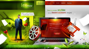 lexmox - video hosting site by webdesigner1921