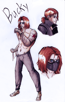 Fic concept ideas: Bucky by WinterGlace