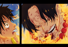 One piece - ace...! by KhalilXPirates