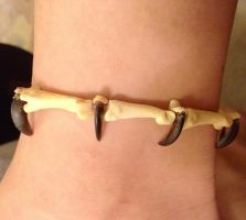 My New Coyote Anklet by YukiChana