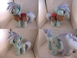 MLP OC Cosmic Ray Plush (commission) by Little-Broy-Peep