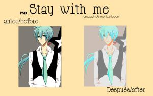 stay with me psd by Sasuuuh