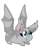 Base 34: The Chibi-est Little Batpony Ever. by MADZbases