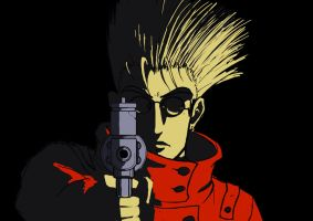 Vash the Stampede unfinished by Neddea