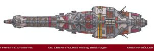 UIC LIBERTY-CLASS Destroyer by MisterK91