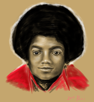 MJ J5 SAI doodle by theblindalley