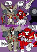 TFP: Starscream and KnockOut: the ultimate Con Duo by xero87