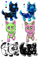 Canine Adopts (Open) by ShyMoonAdopts