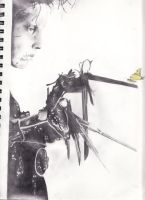 Edward Scissor Hands by artmeistro69
