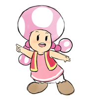 Toadette by pocket-arsenal