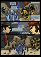 6XL Round One - Fighting while Flushed - P7 by evafortuna