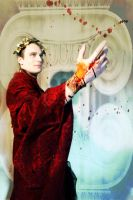 Caligula has a bloody hand by fantine
