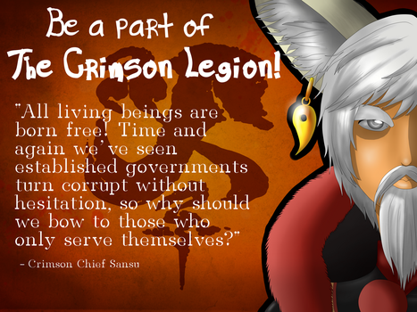 Be a part of THE CRIMSON LEGION! BNS by Sunny160
