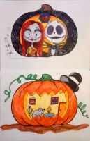 Coloring Sheets Pumpkin Challenge With The Bf by temporaryWizard