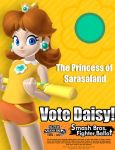 Princess Daisy for Smash 4 by TheHope18